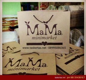 Tas Kertas Craft Coklat Untuk Toko